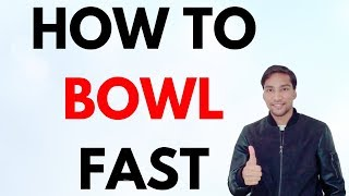 How to Bowl Fast? Fast bowlers Mentality! Hindi Motivational Video