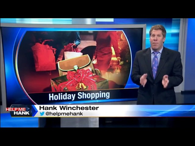 Scott Carty WDIV Help Me Hank Holiday Shopping