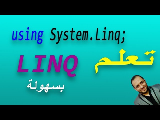 #658 C# Linq Method Syntax Select Database Part DB C SHARP استعلام Linq سي شارب و قواعد البيانات