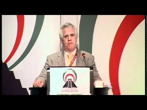 Paddy Crumlin - International Transport Workers' Federation Election