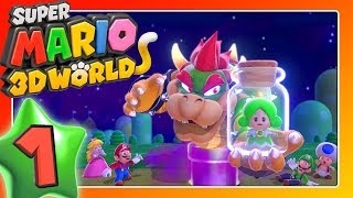 SUPER MARIO 3D WORLD 🐱 Part 1: Four Adventurers in Fairyland