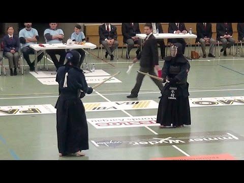 Kendo Schweizermeisterschaft 2016 - Finale Teams -  Genève 1 vs Zürich 1
