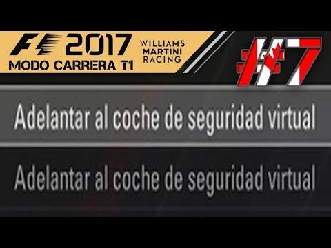 F1 2017 MODO CARRERA #7| GROSJEAN EL HACKER