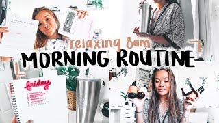 RELAXING 8 A.M. MORNING ROUTINE | Online College, New Bible Study, Tooth Update, Prose Hair + More!
