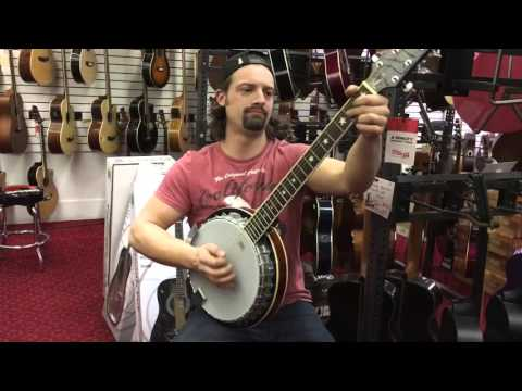 First-Time Banjo Player Kills It