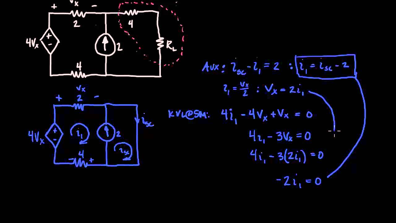 Maximum Power Transfer Youtube Of The Current Source Figure 18 Shows A Simple Example