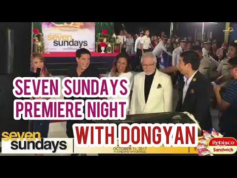 Seven Sundays Premiere Night ( Dingdong Dantes & Marian Rivera )