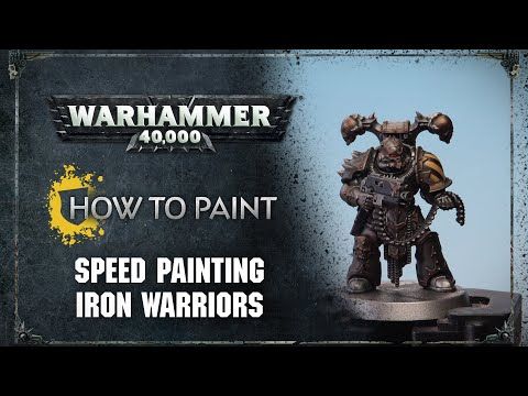How to Paint: Speed Painting Iron Warriors