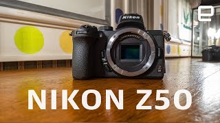 Nikon Z50 hands-on: Nikon's mirrorless cameras get smaller in both size and price