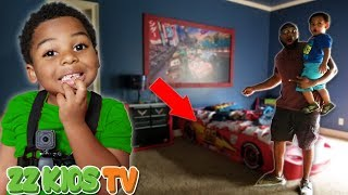 CUTE MONSTER or TOOTH FAIRY  What Is That By ZZ KID's BED? Vlogskit