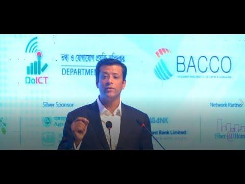 Be An Entrepreneur By Mastering IT Skills || Sajeeb Wazed Joy || BPO Summit 2018