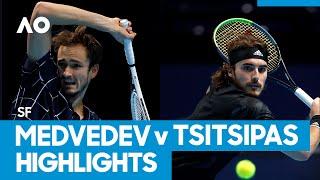 Daniil Medvedev vs Stefanos Tsitsipas Match Highlights (SF) | Australian Open 2021