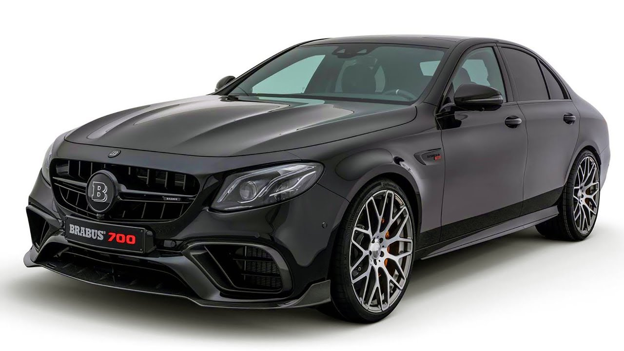 BRABUS 700 Based On Mercedes AMG E63 YouTube