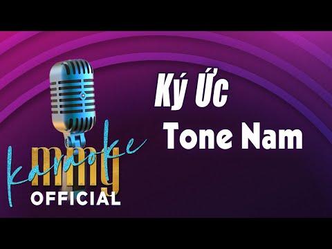 Ký Ức (Karaoke Tone Nam) | Hát với MMG Band