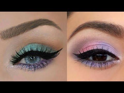 Amazingly Eye Art Makeup 💄 Done!!! 😍 ##5