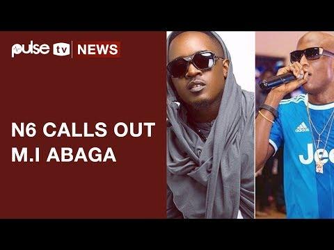 """N6 Calls M.I Abaga A """"Closet Homosexual Midget"""" On Twitter Rant    Pulse TV News"""