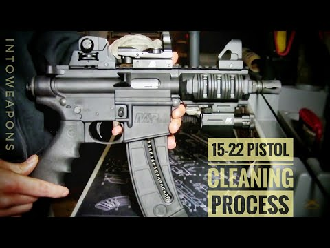 M&P 15-22 Cleaning