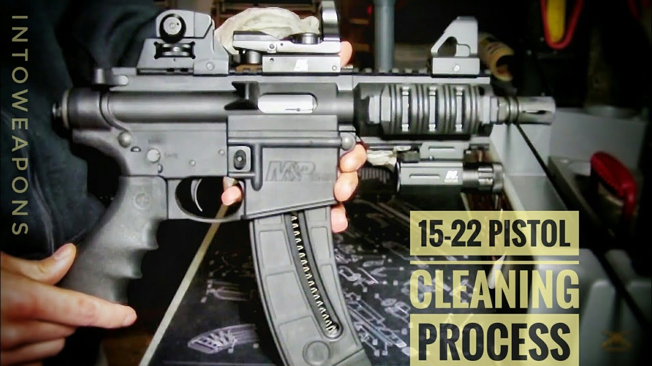 medium resolution of m p 15 22p cleaning process shooting disassembly