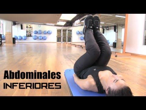 Rutina para abdominales inferiores