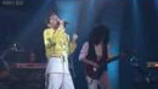 0vueen, Korean Queen Tribute Band - TV Debut - Queen Cover Medley
