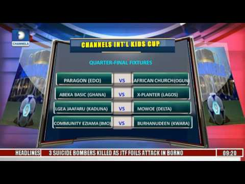 Sports This Morning:  Analysing Games From Channels Int'l Kids Cup Day 3 Pt 1