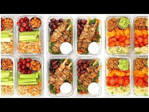 Low Carb Meal Prep Recipes | Back To School + Healthy + Quick + Easy