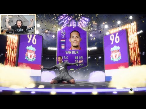 96 POTY VAN DIJK SBC & 96 YPOTY STERLING SBC! - FIFA 19 Ultimate Team