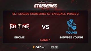 ehome vs newbee young game 1 sl i league starseries season 3 china