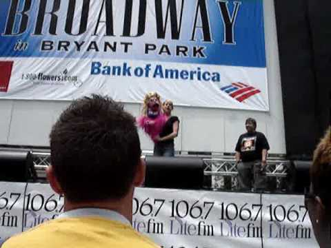 Special  Avenue Q Broadway In Bryant Park