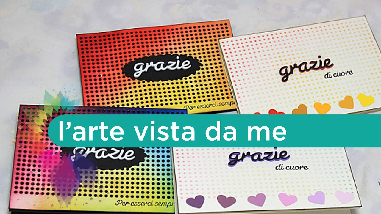 Estremamente Scrap tutorial:card di ringraziamento-Thank you card-Biglietto fai  MS33