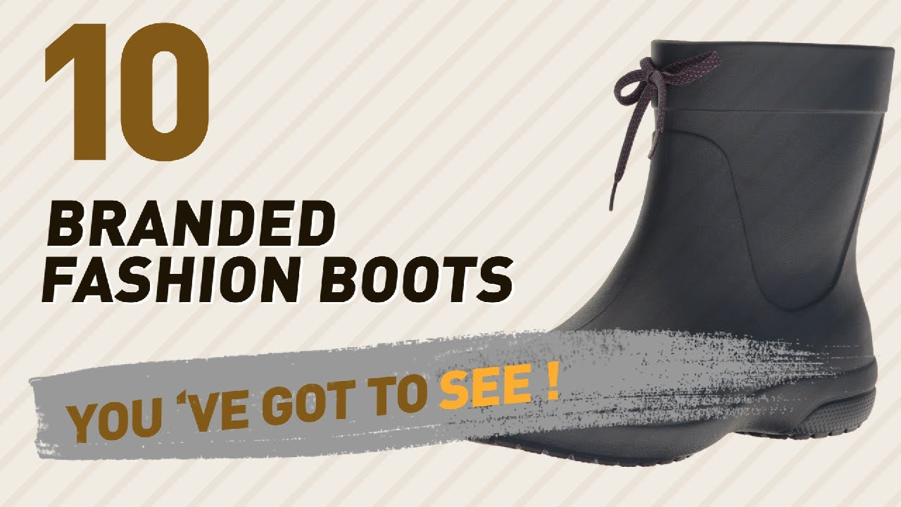 4fc8fe30218e82 Crocs Womens Boots Collection    New   Popular 2017 - YouTube