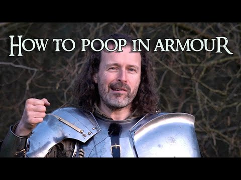 Can you go to the toilet in medieval armour? (and other funny stories)