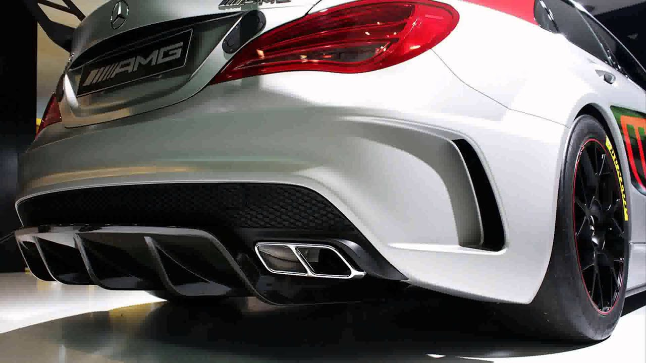 2015 Model Mercedes Benz Cla 45 Amg Racing Series   YouTube