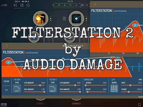FILTERSTATION 2 by Audio Damage - Demo for the iPad
