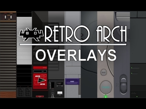 Retroarch Console Themed Overlays (Plain)
