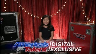 Singer Celine Tam Relives Her First AGT Performance - America
