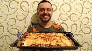 Домашняя пицца в духовке принцип приготовления просто быстро вкусно(Пицца в духовке по домашнему простой рецепт приготовления. Ингредиенты на рецепт пиццы в духовке. Начинка..., 2016-11-26T07:00:02.000Z)