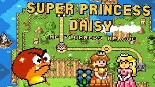 Super Princess Daisy - The Plumbers Rescue (Demo) • Super Mario World Hack