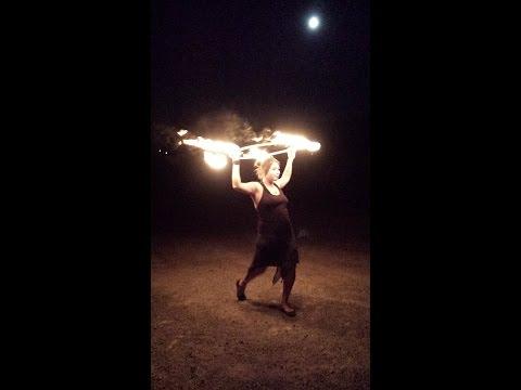 Fire Hoop ~ The Bansheez First Burn!