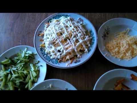 готовим салат Диёр