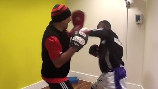 SUPERB! GUILLERMO RIGONDEAUX'S INSANE PAD WORK!