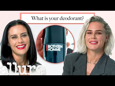 Ali Krieger & Ashlyn Harris Quiz Each Other On Their Beauty Routines | Allure