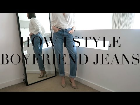 How I Style Boyfriend/Girlfriend Jeans