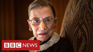 US election battle intensifies after death of Supreme Court Justice Ruth Ginsburg - BBC News