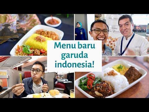 NEW GARUDA INDONESIA INFLIGHT MEAL : SIGNATURE DISH OF INDONESIA