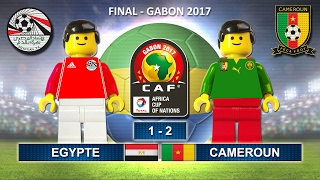 Africa Cup of Nations Final 2017 • EGYPT vs CAMEROON • Gabon 2017 • Lego Football Highlights