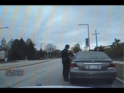 Dashcam Crash: Toyota Camry Versus Buffalo Grove Police Car