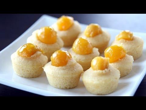 SAVORY CUPCAKE - Bánh Bông Lan Trứng Muối (Recipe)