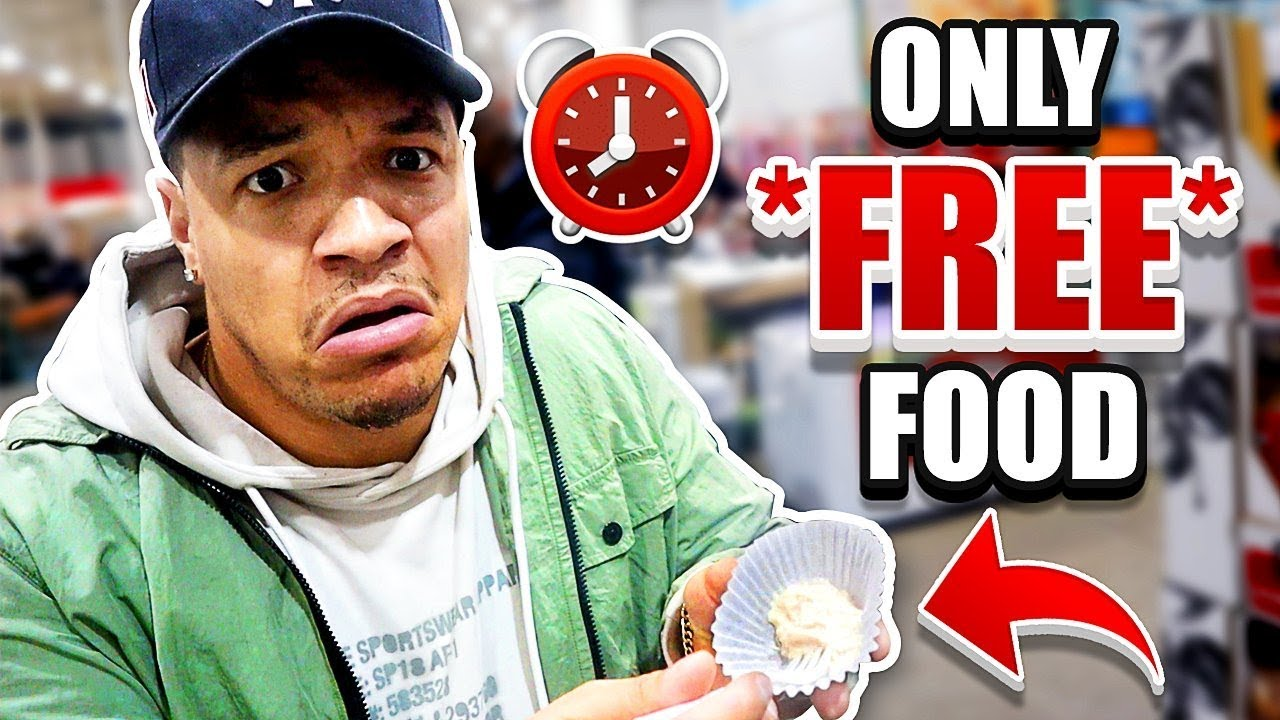 I Only Ate Free Food For 24 Hours Impossible Food