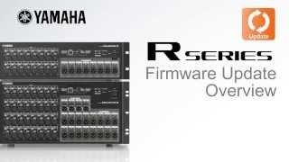 Yamaha R series Firmware Update Overview thumbnail